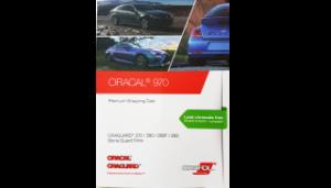 Wzornik Oracal 970 format A4